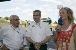 Hans Werner Aufrecht, Team Chef HWA, ITR President, Jens Marquardt BMW Motorsport Director and Chris