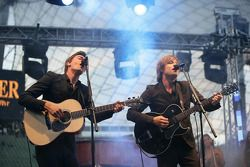 Live entertainment with Mando Diao