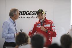 Valentino Rossi, Ducati Team meets Bridgestone guests
