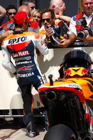 Второе место - Дани Педроса, Repsol Honda Team