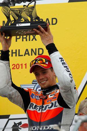 Подиум: третье место - Кейси Стоунер, Repsol Honda Team