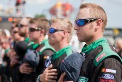 Crew of Ricky Stenhouse Jr., Roush-Fenway Ford