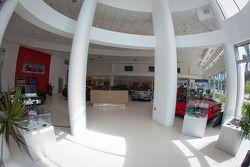 Ferrari of Fort Lauderdale, lobby