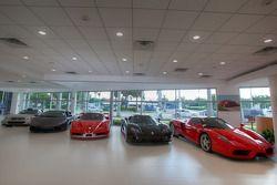 Ferrari of Fort Lauderdale, supercars in the showroom