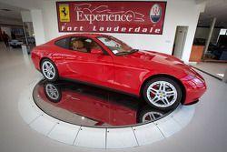 Ferrari of Fort Lauderdale, showroom