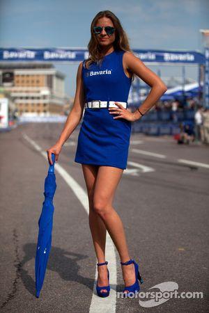 bavaria girls bavaria city racing moscow november