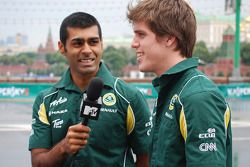 Karun Chandhok, Lotus F1 Team, Luiz Razia, Lotus F1 Team