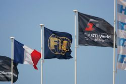 Flags at Paul Ricard