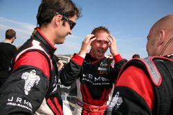 Race winnaars Michael Krumm, Lucas Luhr