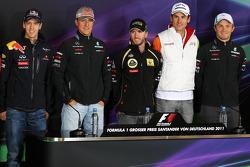 Timo Glock, Marussia Virgin Racing, Sebastian Vettel, Red Bull Racing, Michael Schumacher, Mercedes