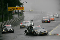 Start: Bruno Spengler, Team HWA AMG Mercedes C-Klasse leads the field