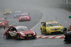 David Coulthard, Mücke Motorsport, AMG Mercedes C-Klasse, Oliver Jarvis, Audi Sport Team Abt Sportsl