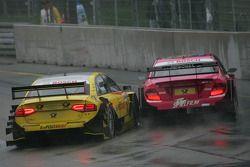 Susie Stoddart, Persson Motorsport, AMG Mercedes C-Klasse 2008; Mike Rockenfeller, Audi Sport Team A
