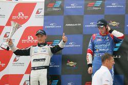 Race winner William Buller, second place Rupert Svendsen-Cook