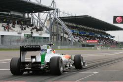 Nico Hulkenberg, Force India F1 Team, Test Pilotu