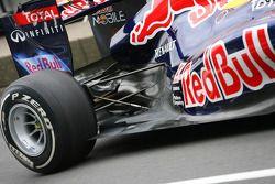 Suspensión trasera en el Red Bull