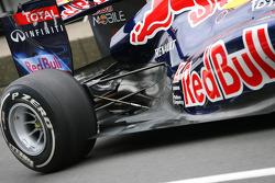 Rear suspension, Red Bull