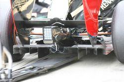 Un nuevo difusor trasero para Nick Heidfeld, Lotus Renault GP