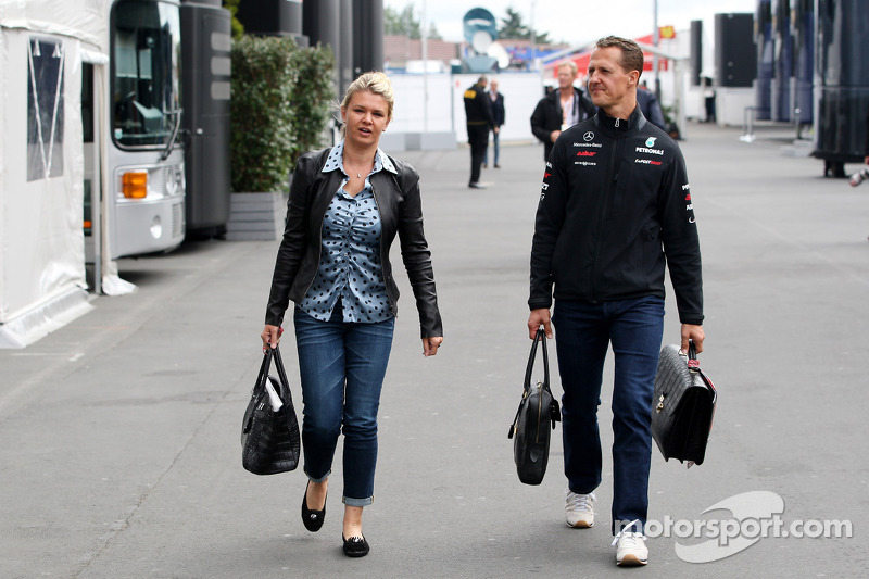 Corina Schumacher, Corinna, eşi, Michael Schumacher, Michael Schumacher, Mercedes GP F1 Team