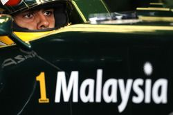 Karun Chandhok, test driver, Lotus F1 Team