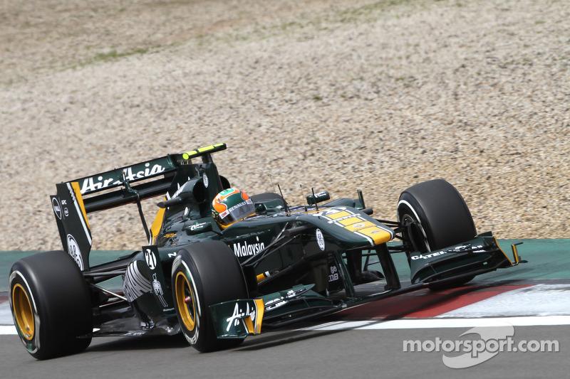 2011: Карун Чандок вместо Ярно Трулли (Team Lotus, Гран При Германии)