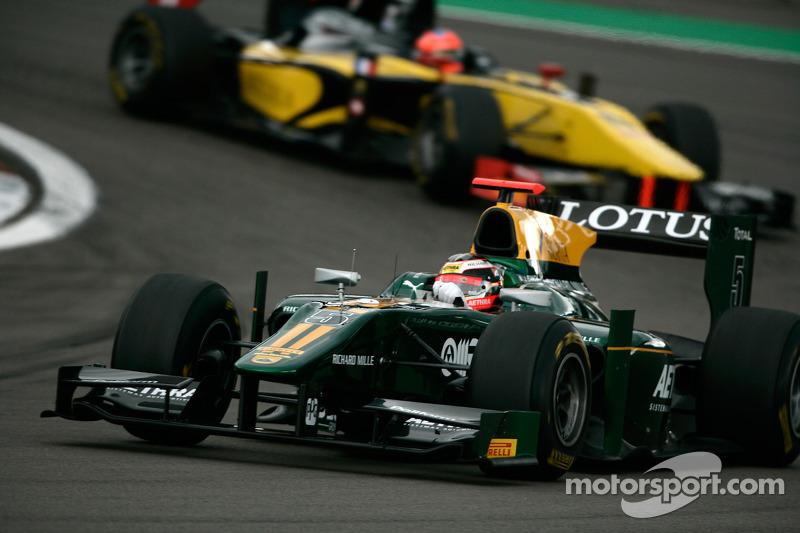 Jules Bianchi devance Romain Grosjean