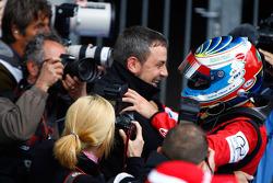 Luca Filippi fête sa victoire