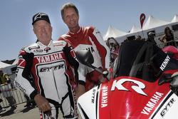 Kenny Roberts et Eddie Lawson