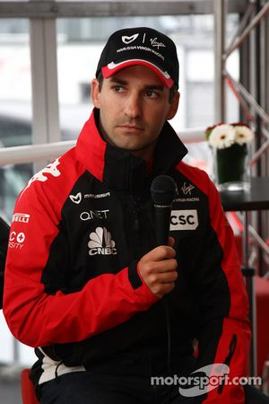 Timo Glock, Marussia Virgin Racing amplía su contrato con Virgin Racing