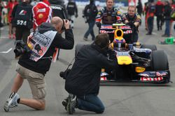 Fotógrafos, Mark Webber, Red Bull Racing