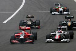 Jerome d'Ambrosio, Virgin Racing ve Daniel Ricciardo Hispania Racing Team, HRT