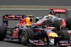 Марк Уэббер, Red Bull Racing и Льюис Хэмилтон, McLaren Mercedes