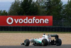 Michael Schumacher, Mercedes GP sale de la pista