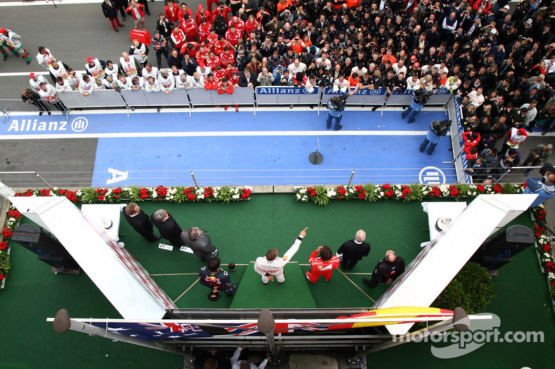 40-Gran Premio de Alemania 2011 (1º), McLaren