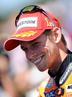 Победитель гонки - Кейси Стоунер, Repsol Honda Team