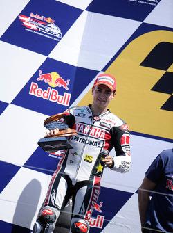 Podium : Jorge Lorenzo, Yamaha Factory Racing, deuxième