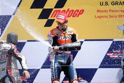 Подиум: победитель гонки - Кейси Стоунер, Repsol Honda Team