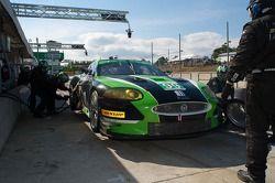 Pitstop #99 Jaguar RSR Jaguar XKR: Bruno Junqueira, Ken Wilden