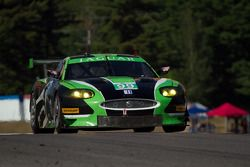 Bruno Junqueira en Ken Wilden, Jaguar XKR