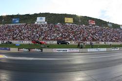 Main grandstands at Bandimere Speedway, Morrison, Colorado