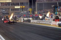 Scott Palmer and Dominick Lagana, Service Central Dragster