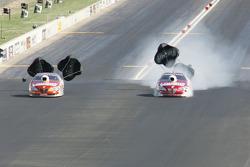 Greg Anderson, Summit Racing Pontiac GXP, Jason Line, Summit Racing Pontiac GXP