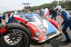 Pitstop #5 Action Express Racing Porsche Riley: David Donohue, Darren Law
