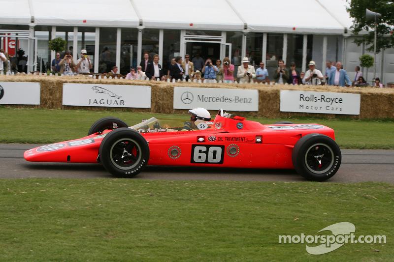 Lotus 56 для гонок IndyCar на историческом фестивале