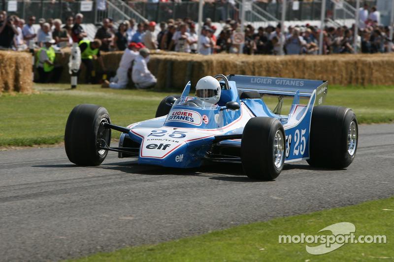 Ligier JS11/15 Ford на историческом фестивале