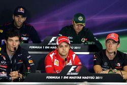 Jaime Alguersuari, Scuderia Toro Rosso, Heikki Kovalainen, Team Lotus, Mark Webber, Red Bull Racing,