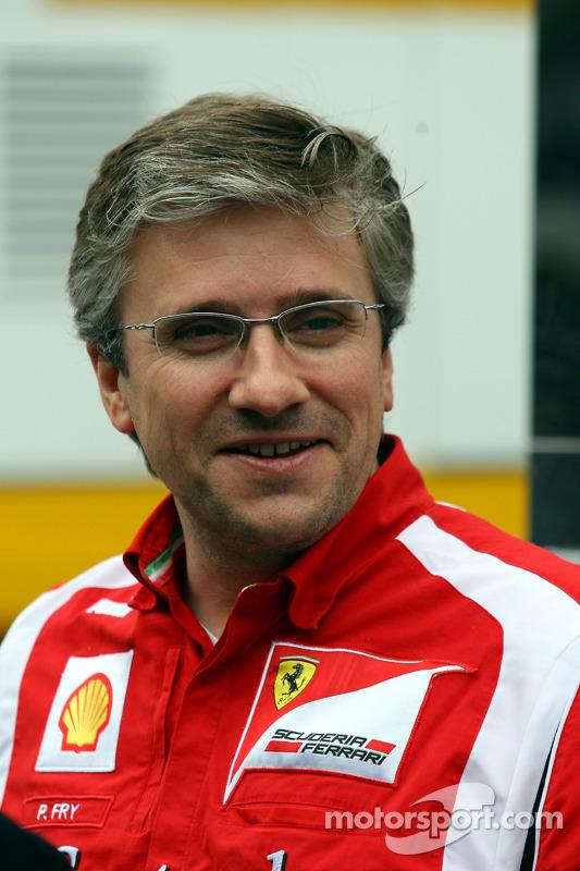 Director técnico Pat Fry Ferrari