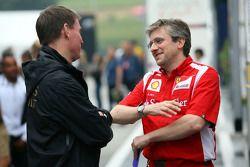 Alan Permane, Lotus Renault GP ingenieur en Pat Fry, Ferrari technisch directeur