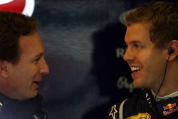 Christian Horner, Red Bull Racing Director deportivo Sebastian Vettel, Red Bull Racing