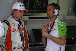 Nico Hulkenberg, Force India F1 Team, Piloto de prueba